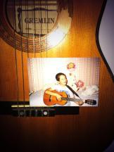 brian, guitar, young