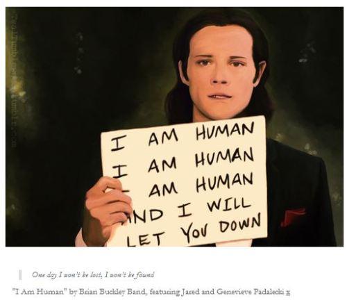 fanart - Jared I am human