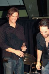 jared, brian, performance, convention, supernatural