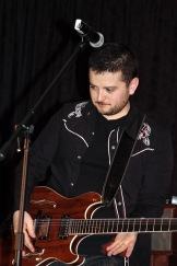 mike, supernatural, convention, performance, guitar