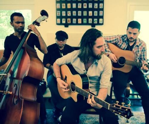 The full band on stageit || Photo by Natalia Cordova